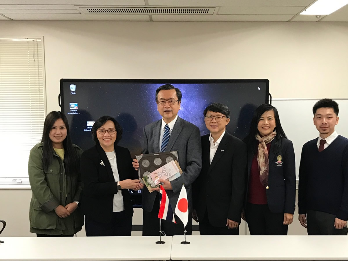 Thailand National Science and Technology Development Agency(NSTDA) visiting Kanagawa Science Park.